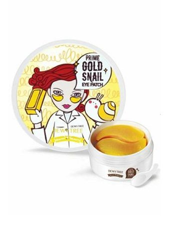 Prime gold snail eye patch (parches de hidrogel para contorno de ojos)