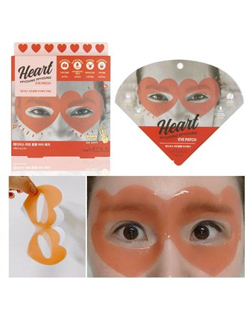 Heart ppyoung ppyoung eye patch (2 uds)