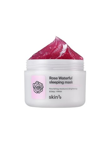 Rose waterful sleeping mask (mascarilla de noche de rosas)