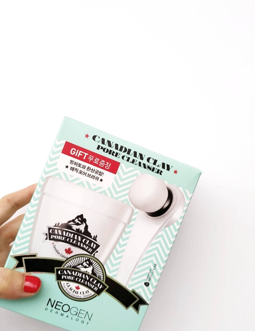 Canadian clay pore cleanser kit